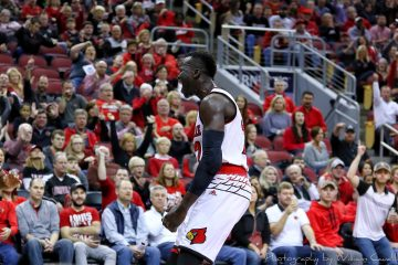 Deng Adel Louisville vs. Boston College 1-21-2018 Photo by William Caudill, TheCrunchZone.com