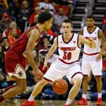 Ryan McMahon Louisville vs. Boston College 1-21-2018 Photo by William Caudill, TheCrunchZone.com
