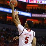 Malik Williams Louisville vs. Boston College 1-21-2018 Photo by William Caudill, TheCrunchZone.com