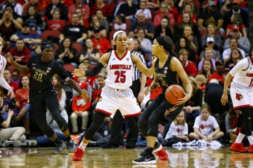 Asia Durr Louisville vs. Florida State 1-21-2018 Photo by William Caudill, TheCrunchZone.com