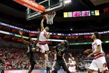 Donovan MDonovan Mitchell Louisville vs. Florida State 1-20-2016 Photo by William Caudillitchell Louisville vs. Florida State 1-20-2015 Photo by William Caudill