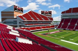 The Crunch Zone 2.0 North Endzone Expansion Papa John's Cardinal Stadium from UofL