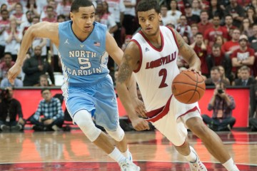 Quentin Snider Louisville vs. North Carolina 2-1-2016 Photo Courtesy of Wade Morgen