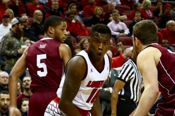 Jaylen Johnson Louisville vs. Southern Illinois 12-7-2016 Photo by William Caudill TheCrunchZone.com