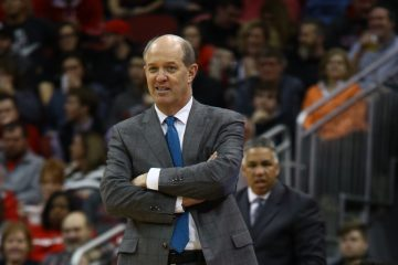 Kevin Stallings Louisville vs. Pitt 1-11-2017 Photo By William Caudill TheCrunchZone.com