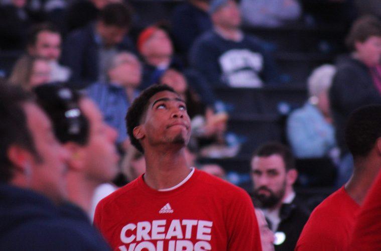 Ray Spalding Louisville vs. Duke 3-9-2017 Photo by Mark Blankenbaker TheCrunchZone.com