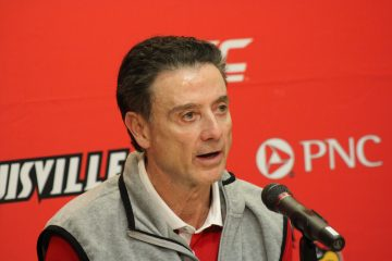Rick Pitino Louisville Basketball Photo by Mark Blankenbaker