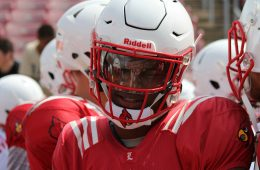 Lamar Jackson Spring Game 4-15-2017 Photo by Mark Blankenbaker TheCrunchZone.com