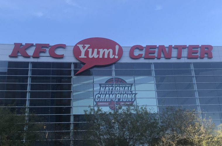 KFC Yum! Center Photo by Matt McGavic TheCrunchZone.com 9-28-2017