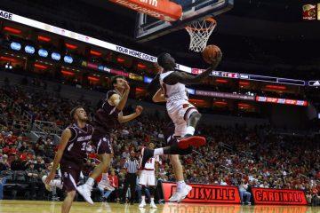 Deng Adel, Louisville Basketball vs. Bellarmine by William Caudill, 11-7-2017, TheCrunchZone.com