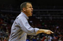 Jeff Walz Louisville vs. Southeast Missouri by William Caudill, 11-10-2017, TheCrunchZone.com
