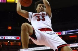 Jordan Nwora Louisville (MBB) vs. Southern Illinois 11-21-2017 Photo by William Caudill TheCrunchZone.com