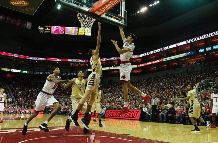 Anas Mahmoud Louisville vs. Wake Forest 1-27-2018 Photo by Cindy Rice Shelton, TheCrunchZone.com