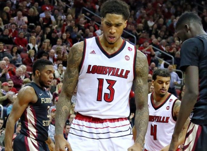 Ray Spalding Louisville vs. Florida State 2-3-2018 Photo by William Caudill, TheCrunchZone.com