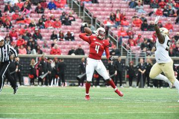 Jawon Pass Louisville vs. Wake Forest 10-27-2018 Photo by Austin Sullivan TheCrunchZone.com