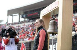 Kelsi Worrell Louisville vs. Wake Forest 10-27-2018 Photo by Austin Sullivan TheCrunchZone.com
