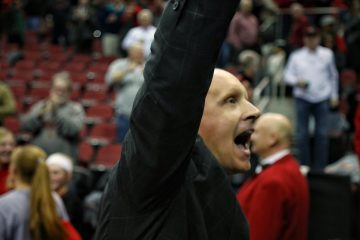 Chris Mack Louisville vs. Michigan State 11-27-2018 Photo by William Caudill, TheCrunchZone.com