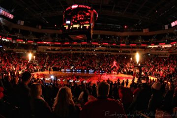 Intro Louisville vs. Southern 11-13-2018 Photo by William Caudill, TheCrunchZone.com