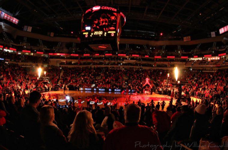 Intro Louisville vs. Southern 11-13-2018 Photo by William Caudill, TheCrunchZone.com