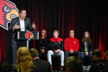 Scott Satterfield Introductory Press Conference 12-4-2018 Photo by William Caudill, TheCrunchZone.com