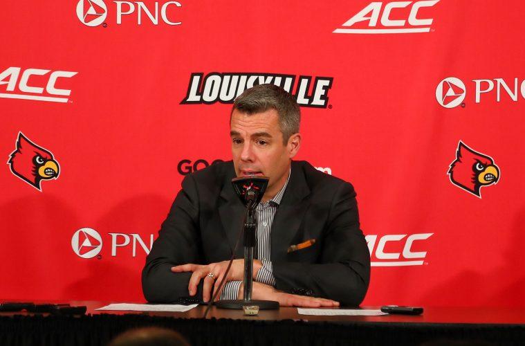 Tony Bennett Louisville vs. Virginia Post-Game 2-23-2019, Photo by William Caudill, TheCrunchZone.com
