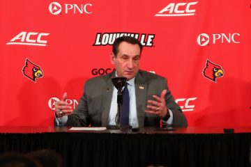 Mike Krzyzewski Louisville vs. Duke 2-12-2019 Photo by William Caudill, TheCrunchZone.com