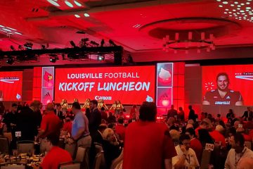 2019 Louisville Football Kickoff Luncheon 8-12-2019. Photo by Tom Farmer, TheCrunchZone.com