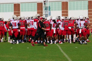 Louisville Football Fall Camp 8-14-2019. Photo by Tom Farmer, TheCrunchZone.com