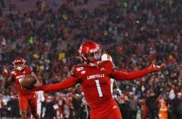 Tutu Atwell Louisville vs. Syracuse 11-23-2019 Photo by William Caudill, TheCrunchZone.com