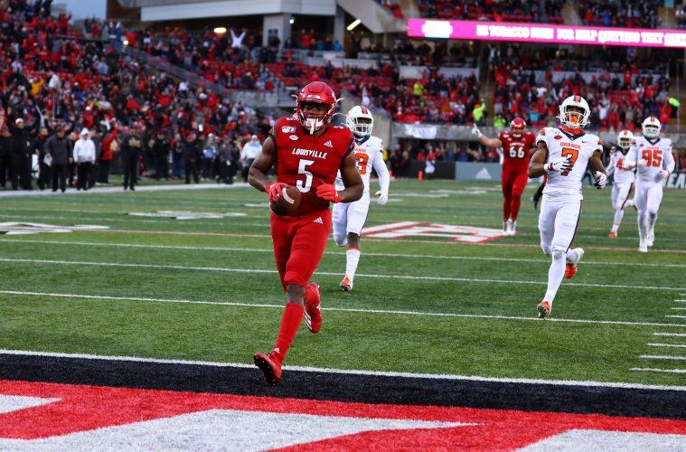 Seth Dawkins Louisville vs. Syracuse 11-23-2019 Photo by William Caudill, TheCrunchZone.com