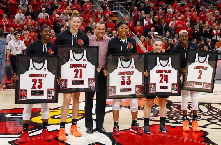 Jeff Walz Louisville Women's Basketball vs. Virginia Tech 3-1-2020 Photo By William Caudill, TheCrunchZone.com
