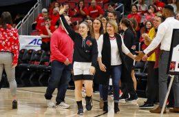 Louisville Women's Basketball vs. Virginia Tech 3-1-2020 Photo By William Caudill, TheCrunchZone.com