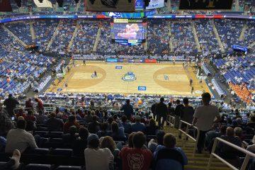 Greensboro Coliseum 2020 ACC Basketball Tournament 3-11-2020