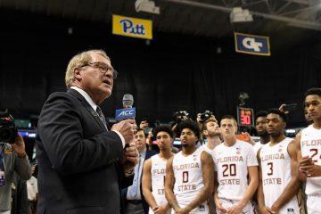 John Swofford 2020 ACC Basketball Tournament 3-12-2020