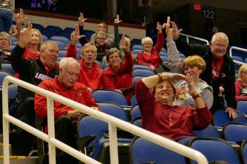 Fans Louisville Women's Basketball