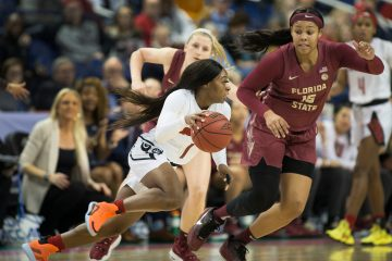 Dana Evans Louisville Women's Basketball 2020 ACC Tournament