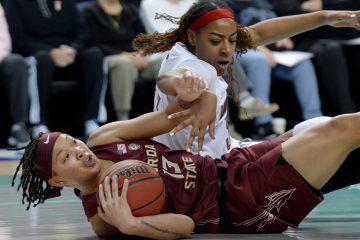 Bionca Dunham Louisville Women's Basketball 2020 ACC Tournament