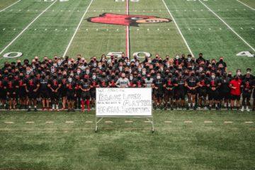 Black Lives Matter Louisville Football