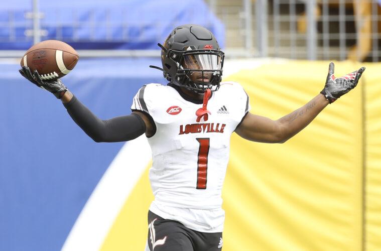 Tutu Atwell Louisville vs. Pittsburgh 9-26-2020