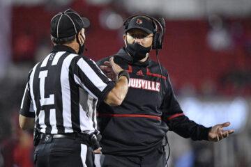 Scott Satterfield Louisville vs. Miami 9-19-2020