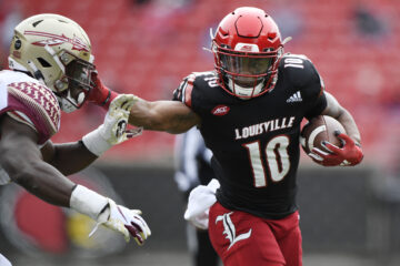 Javian Hawkins Louisville vs. Florida State 10-24-2020