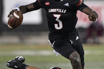 Malik Cunningham Louisville vs. Virginia Tech 10-31-2020