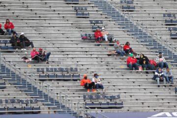 COVID Fans Louisville vs. Virginia 11-14-2020