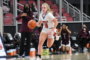 Haley Van Lith, Louisville Women's Basketball 11-30-2020