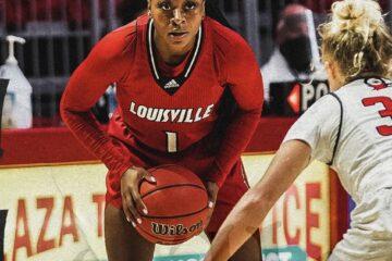 Dana Evans Louisville Women's Basketball